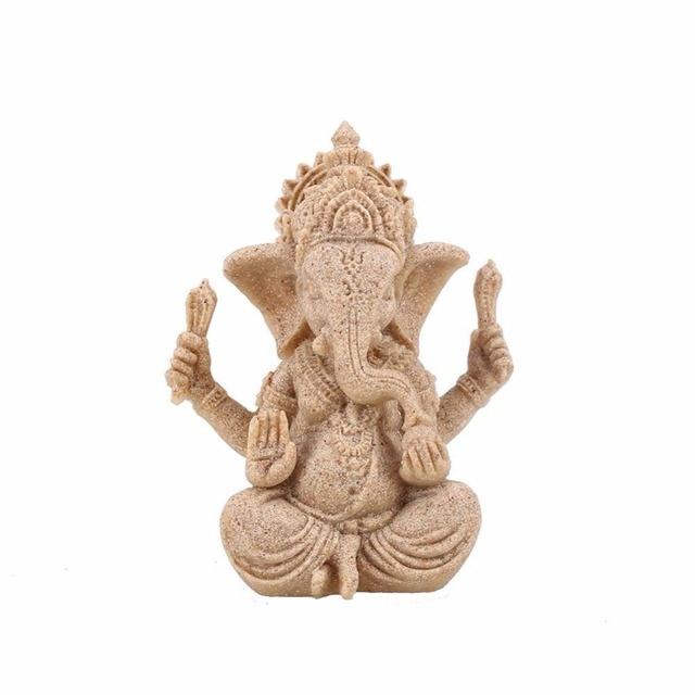 Sandstone Ganesha Statue 1