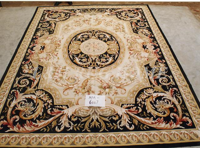 free shipping french style aubusson carpets hand knotted rugs woolen french aubusson - Aubusson Rugs