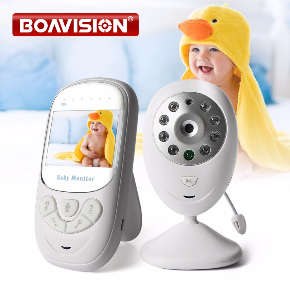 High Quality Wireless 2.4 inch Video Color Baby Monitor Security Camera Baby Nanny Intercom Night Vision Temperature Monitoring 2 0 inch video color wireless video baby monitor vb602 baby nanny camera intercom night vision camera temperature monitoring