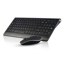 Optical Wireless Keyboard + Mouse Combos 2.4G Rechargeable Fit For Laptops Tablet PC Computer QJY99
