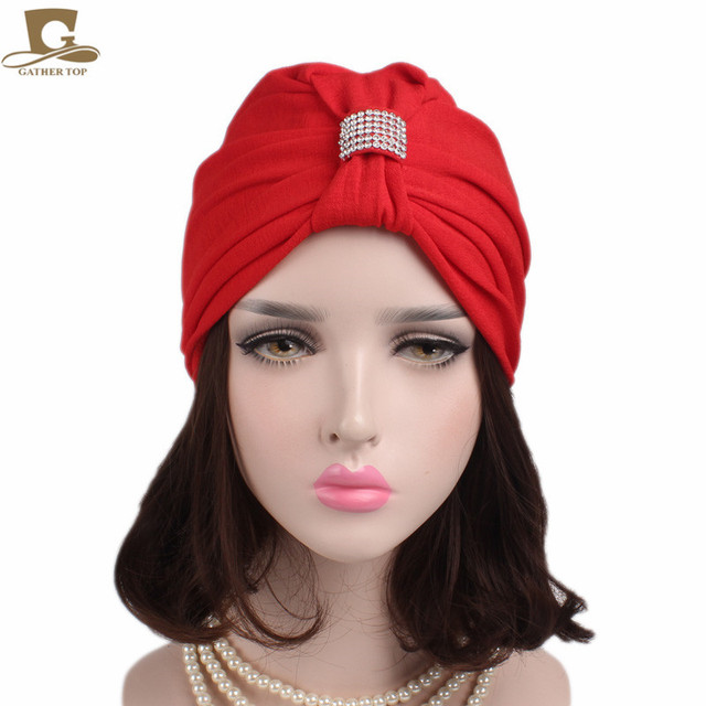 Novas Mulheres Do Vintage Bowknot Cap Quimio Turbante Chapéu Elegante  Indiano Cap Chemo Bandana Envoltório Câncer 106517d639b