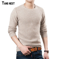 Men Sweater 2015 New Arrival Casual Solid O Neck Basic Sweater Male Winter Autumn Easy Match