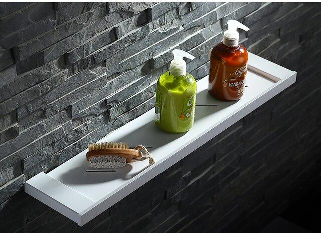 Mensole Da Bagno In Acciaio : Di alta qualità bianco tutti i 304 bagno in acciaio inox mensola