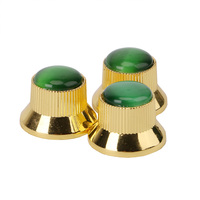 Homeland Golden Acrylic Speed Knobs Volume Tone Control For LP Electric Guitar