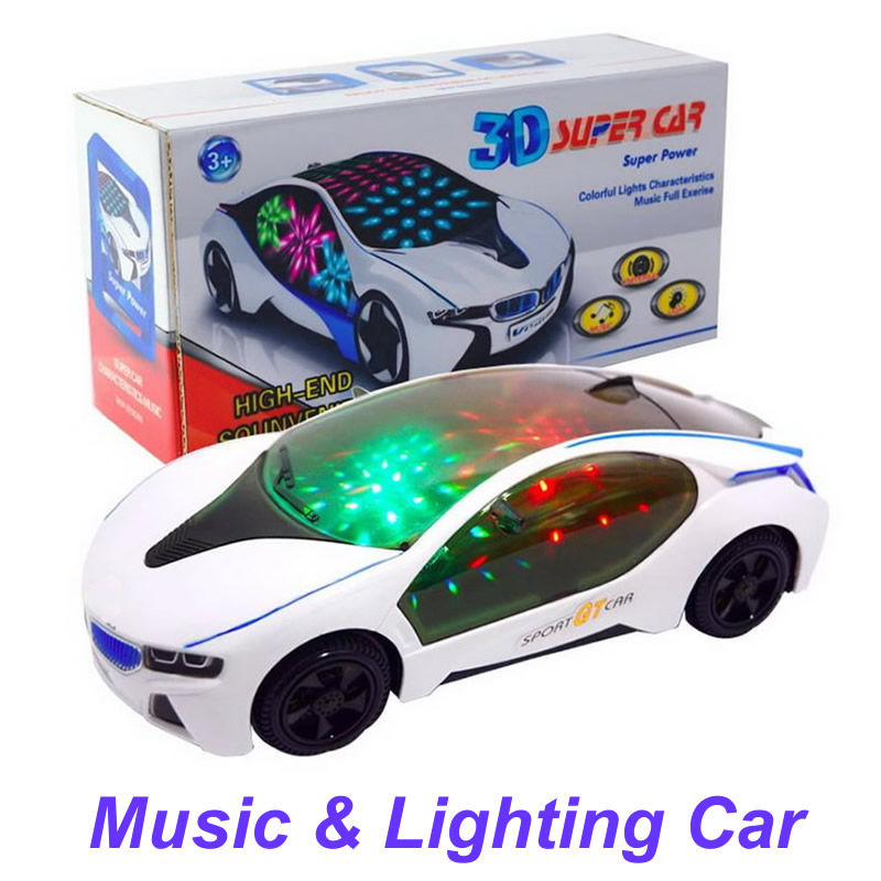 Lighting Plastic Toys Car for Kids Diecast Toy Car Models Music Flashing Car Toys For Children Birthday Christmas Gifts QC01