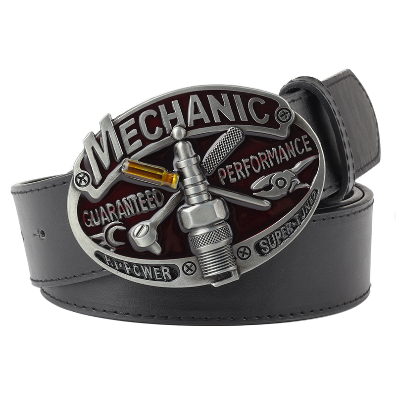 mechanic   belt   buckle PU mechanic   belt   buckle