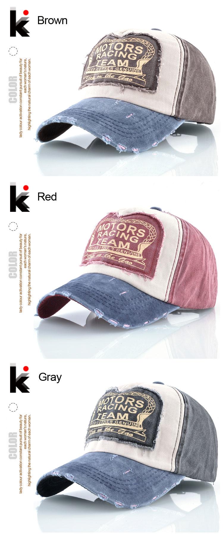 Fashion Washed Denim Baseball Cap Women Snapback Patch Hip Hop Hats For Men  Spring Summer Streetwear Fitted Cap Brand Cotton Hat cbd09c91c5f2