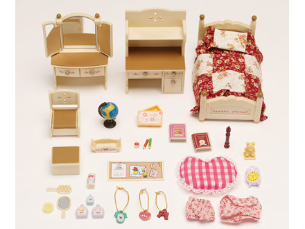 Sylvanian Families Sisters Bedroom Set - £20.00 - Hamleys for ...