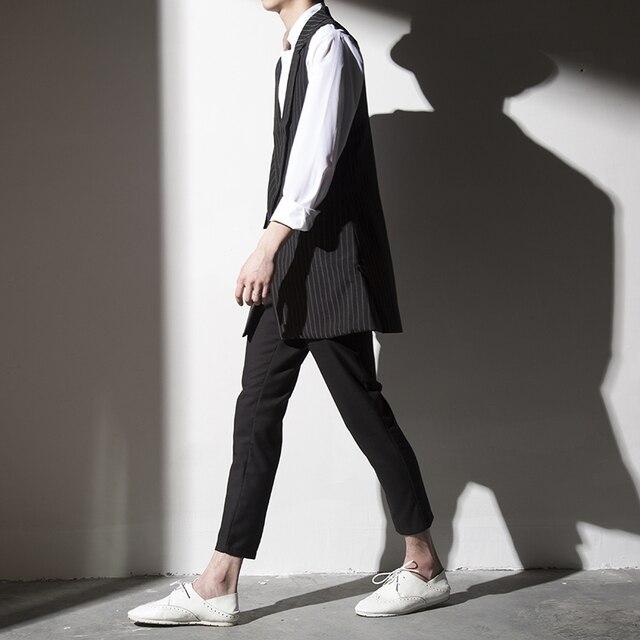 Поступила новая мода Мужской Костюм Жилет Slim Fit Платье Жилеты мужская Досуг Жилет Повседневная Бизнес Куртка Топы
