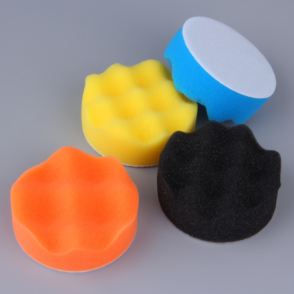 10 Pieces Set Gross Polishing Buffer Pad Set Buffing Pad
