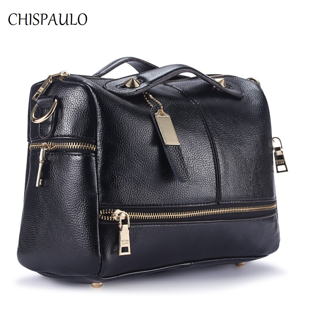 CHISPAULO Woman Bag 2017 Luxury Brand Designer Women Genuine Leather Handbags Fashion Bags For Women Messenger Crossbody Bag X39 chispaulo luxury brand women genuine leather handbags designer female crossbody bag fashion women s shoulder bags lady bags x21