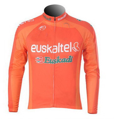 9c98a4915 Detail Feedback Questions about WINTER FLEECE THERMAL Long Cycling Jerseys  2012 2013 Euskaltel Euskadi Team Mtb Long Sleeve Men Bike Wear Cycling  Clothing ...