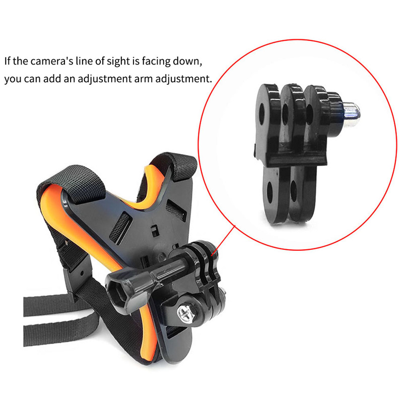 Motorcycle Helmet Chin Mount Holder Full Face Helmet Chin Stand For dji osmo For GoPro Hero 7 6 5 4 Xiaomi Yi 4k Action Camera  (13)