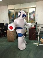 Advertising Robot Mascot Costume Promotion Suit Unisex Dress Adult Outfits Party