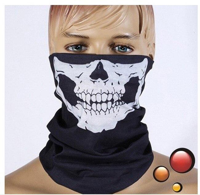 Drop shipping Skull Design Multifunction Bandana Scarf Sport Motorcycle Bike Scarf Face Mask headband skull balaclava bandanas