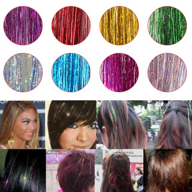 Hair Extension Glitter.