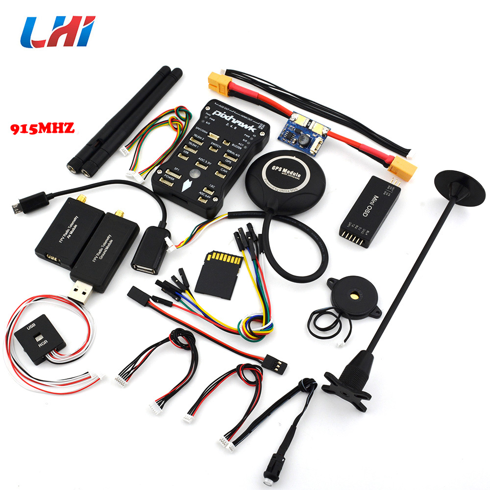 2018 Limited New Frame Servo Fpv Rc Car Pixhawk Px4 Autopilot Pix 2.4.8 32 Bit Flight Controller With Safety Switch And Buzzer pixhawk px4 32 bit open source autopilot flight controller v2 4 8 with safety switch buzzer
