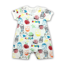 Baby Clothing Fantasia Baby Bodysuit Infant Jumpsuit Overall Short Sleeve Body Suit Set Summer Cotton