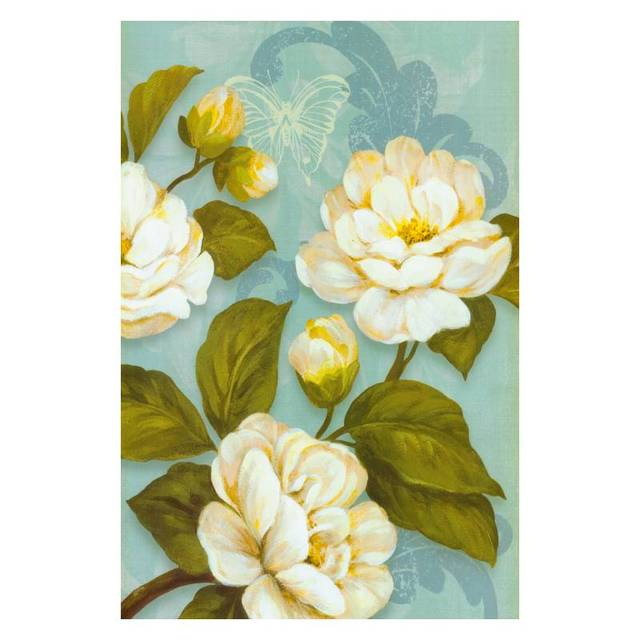 Tamaño grande de la lona pintura al óleo Sin Marco moderno 3d flores ...