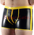 Sexy Costumes Sexo Sex Products Hot Latex Pants Men Sexy With Crotch Zip Trousers Leggings Free Shipping Fast Delivery