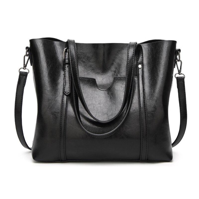 Tophandtag Väskor för kvinnor 2018 Vintage Stor Storlek Stor - Handväskor - Foto 6