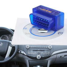 OBD mini ELM327 Bluetooth OBD2 V2.1 Auto Scanner OBDII 2 Car ELM 327 Tester Diagnostic Tool for Android Windows Symbian