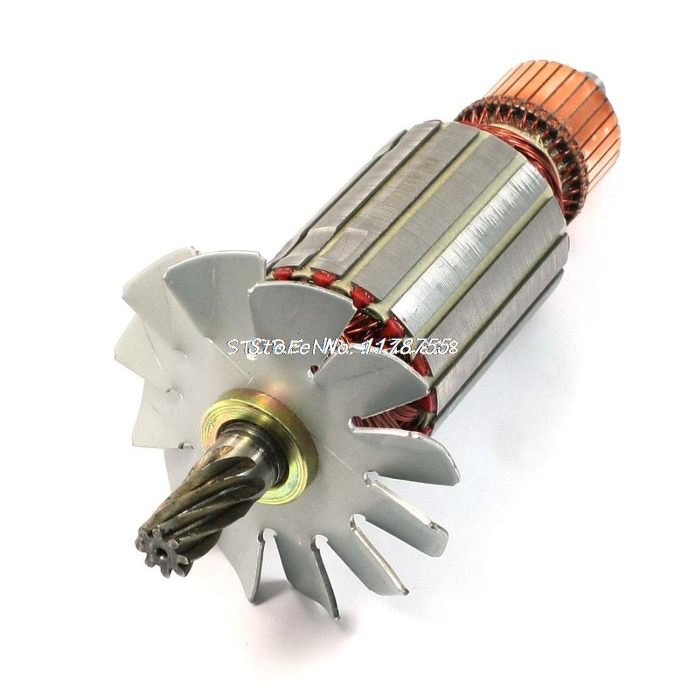 Electric Circular Saw Part AC 220V 8 Teeth Armature Rotor for Hitachi C-13Electric Circular Saw Part AC 220V 8 Teeth Armature Rotor for Hitachi C-13