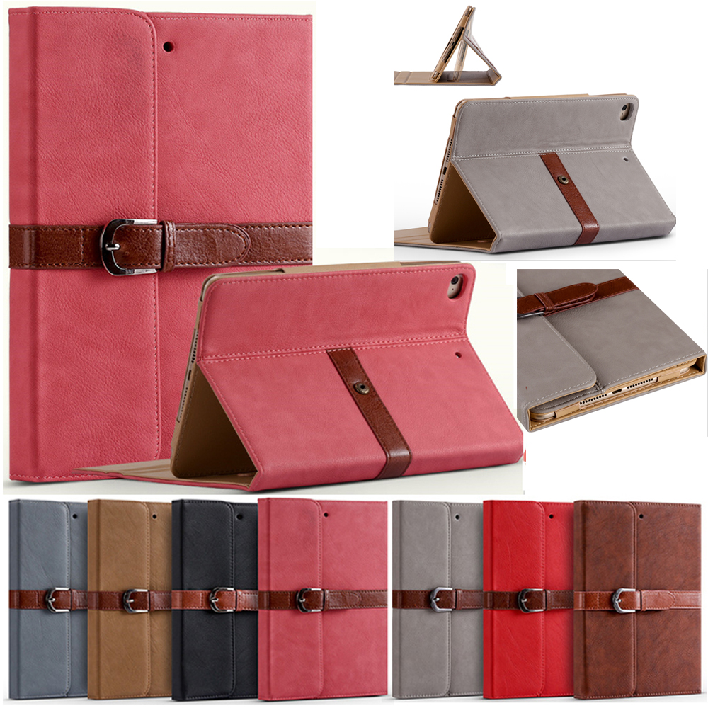 Luxury Leather Smart Stand Flip Case For Apple iPad Pro 12.9 Tablet Cover With Magnetic Auto Wake Up Sleep A1584 A1652