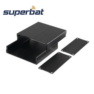 Image 2 - Чехол для корпуса Superbat, алюминиевый корпус для корпуса Project Box, электронные блоки питания DIY, корпус усилителя 100*97*40 мм