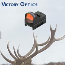 Victoptics 미니 빨간 점 시력 친애하는 슈팅 사냥을위한 저렴한 반사 광경