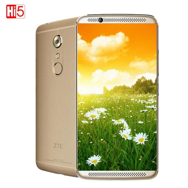 "New Original ZTE AXON 7 4G RAM 128GB ROM Mobile Phone Snapdragon 820 Quad Core 20.0MP 5.5"" Fingerprint Android 6.0 Hi-Fi"