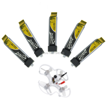 5PCS lot Tattu 3 7V 220mAh LiPo Battery 45C 1S with Gift Battery Strap for Blade