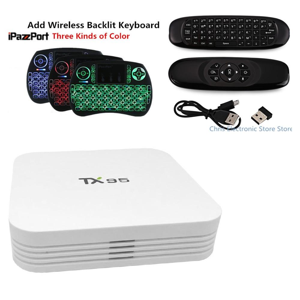 Mesuvida TX95 TV Box Amlogic S905X Quad Core CPU Android 6.0 Smart Tv Box 1G 16G 2G 16G 2.4GHz 5.0GHz WiFi Mini PC Set Top Box mesuvida kiii android 5 1 1 tv box amlogic s905 2g 16g dual wifi dlna airplay xbmc quad core uhd 4k 3d miracast set top box