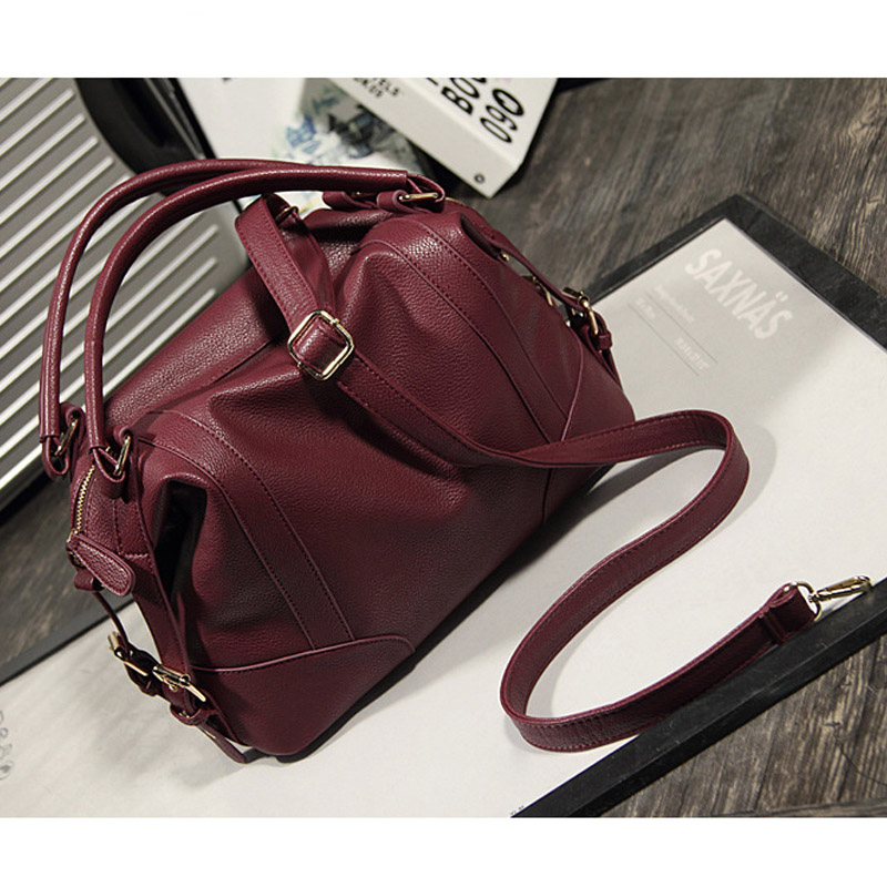 ФОТО Mujer Negro 2017 Fashion Big Women Bag Ladies Brand Leather Handbag Spring Casual Tote Bag Large Shoulder Bags For Shopping work