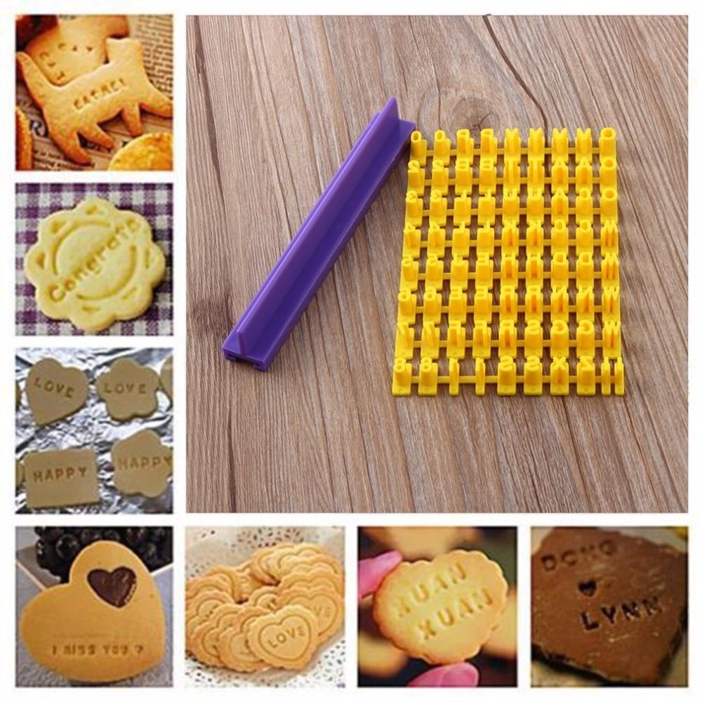 Kitchen Creative Cake Design Mold Soap Mold Diy Alphabet Number