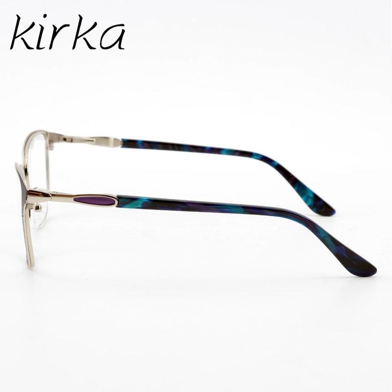 Kirka Retro Οπτικό Clear Lens Μεταλλικά Γυαλιά - Αξεσουάρ ένδυσης - Φωτογραφία 5