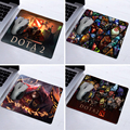 2016 Rushed Alfombrilla Raton Hot Selling Popular Style Dota 2 Design Natural Mouse Pad Computer Mat 180*220*2mm Or 250*290*2mm