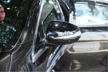 Gloss Black For Mercedes Benz C w205 E W213 GLC-Class X253 S Class w222 ABS Plastic Car Rearview Mirror Cap Cover Trim LHD