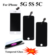 Quality Screen For iPhone 5S 5 SE LCD for iPhone 6 6Plus Display Digitizer Touch Screen wi