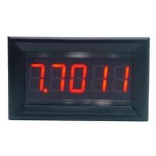 DC 0-33.000V (0-33V) Digital Voltmeter 5-digits bit High Precision Voltage Meter three phase led digital voltage measuring ac voltmeter high quality high precision to record the voltage