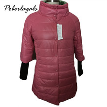 2016 Thicken Warm Winter Sleeve sweater line jacket Plus Size Parkas for Women New Women's Long Down Parka Jackets for Women