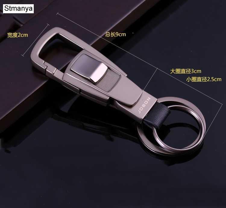 Ключ высокого качества цепочка Топ Бизнес Брелки мужские талии Висячие женские автомобильные брелки лучший подарочный держатель для ключей с коробкой