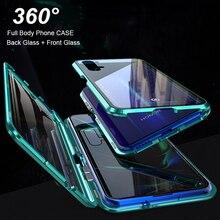 360 Kính Cường Lực Flip Dành Cho Huawei Mate 20 Pro P30 P20 Lite Nova 5 T 3i 4 V20 P smart Z Danh Dự 8X 9X Y9 Prime 2019 Ốp Lưng