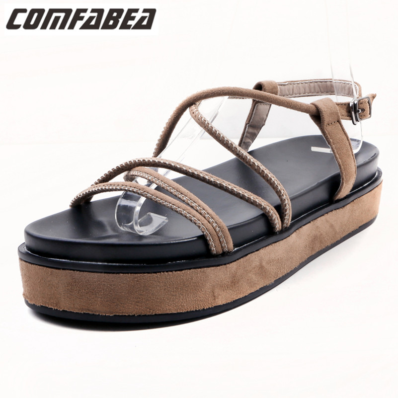 New Arrival 2018 Women Casual Sandals Woman Summer Shoes Casual Platform Sandals Sweet Sandal Woman Sandal