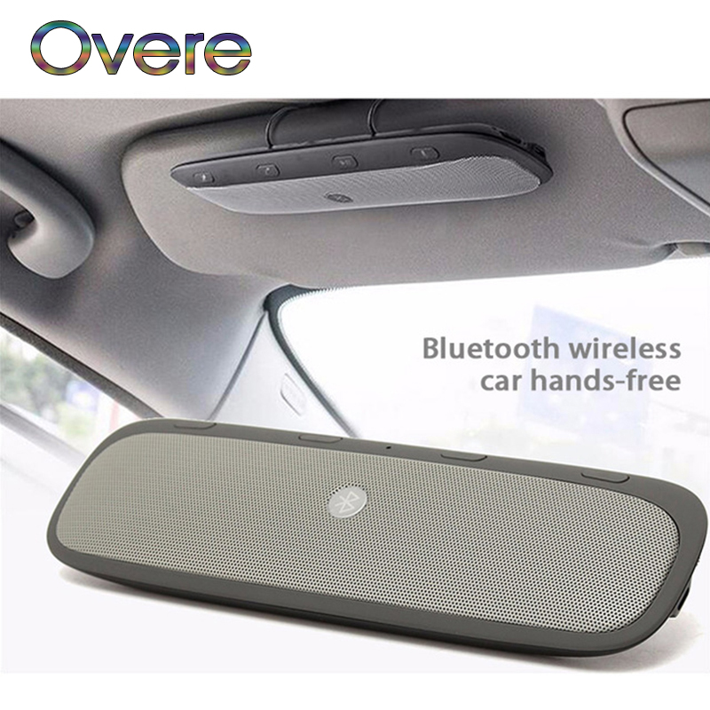 Overe 1Set Bluetooth Car Kit Speakerphone Wireless Speaker Phone For Mercedes W205 W203 Volvo XC90 S60 XC60 V40 Alfa Romeo 159
