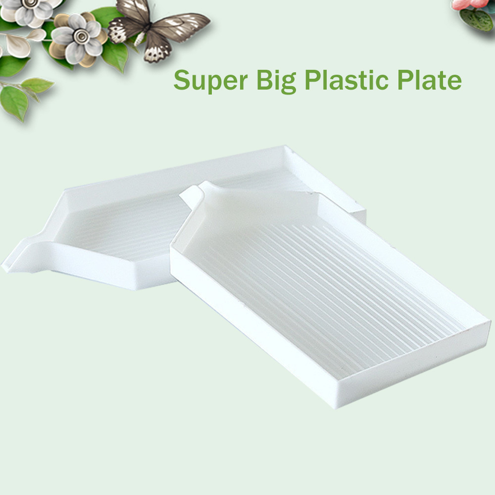 Diamond Painting Plastic Tray Large Diamond Embroidery Plate Tool Kits Diamond Mosaic Paste Accessories Bigger Capacity Helpful