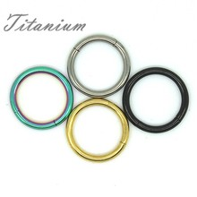 Universal Rings For Ear, Lip, Nose Piercing Jewelry 4 Colors Optional SGS Certification