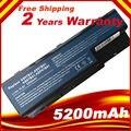 Batería para portátil acer aspire 5520g 5230 as07b42 as07b52 para 5730zg a2 ps