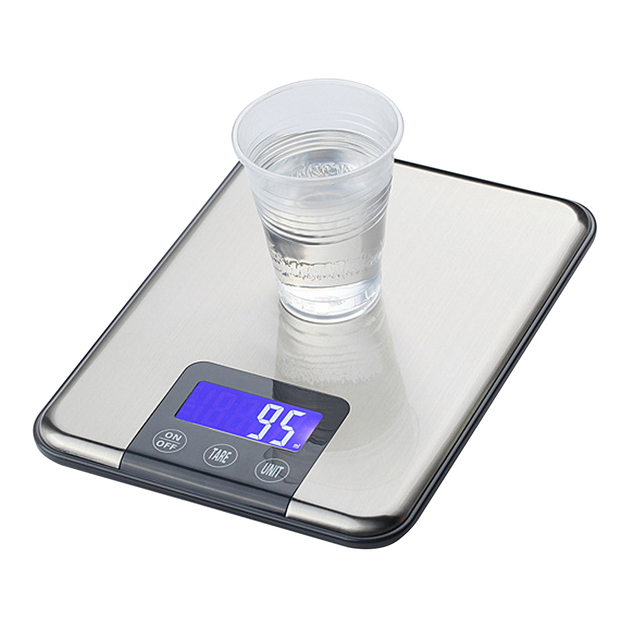 Superieur Best Sale 15KG 1g Touch Screen Digital Kitchen Scale 15kg Big Food Diet  Weight Balance Slim
