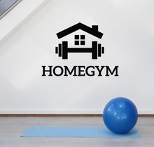 Home Gym Wall Decoration Decals Fitness Motivation Sports Room Decor Stickers Bedroom Art Decal Murals Removable Wallpaper Z831(China)